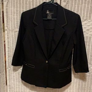 KS collection pantsuit in black